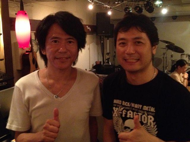 全然内容と関係ないけど、左はメジャーの世界をよくご存知の米川さん。
