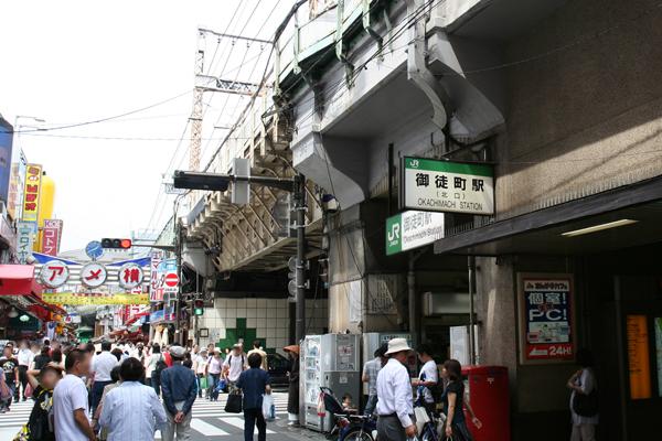 JRE_Okachimachi_Station_north_exit